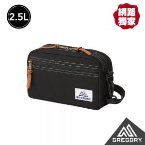 Gregory 2.5L PAD SHLD POUCH CANV斜背包 黑